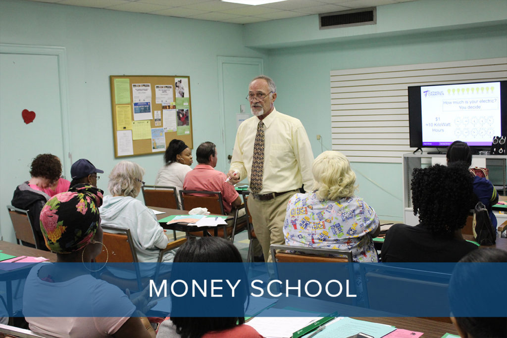 Money School Catholic Charities of North Louisiana